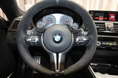"MODE ""GTS"" & ""CS"" style Custom Steering Wheel Cover for BMW & M-Sport & M Models F-Series - MODE Auto Concepts"