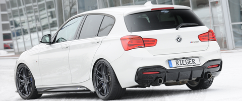 Rieger Design & Tuning Rear Diffuser suits BMW M135i/M140i (F20/F21)