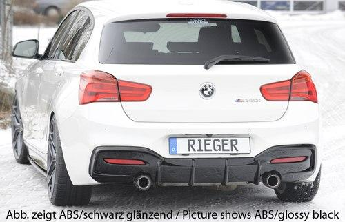 Rieger Design & Tuning Rear Diffuser suits BMW M135i LCI & M140i (F20/F21)