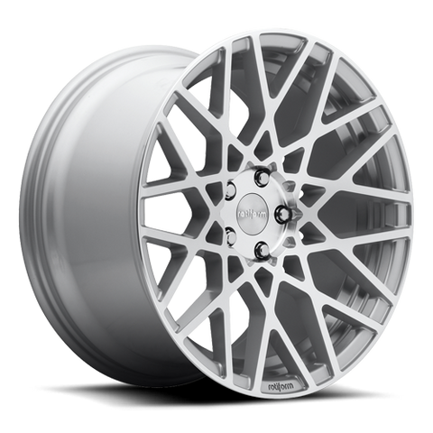 Rotiform BLQ Silver Machined