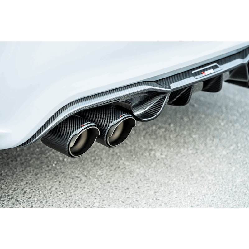 Akrapovic Slip-On Line (Titanium) w Carbon Tailpipes suits BMW M2 Competition F87