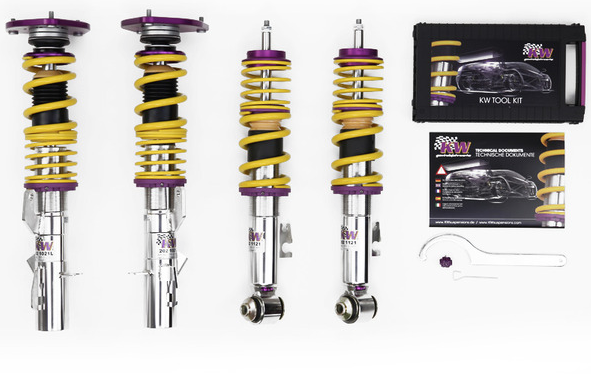 KW Suspension - Clubsport 2-way incl. top mounts Audi S3 Sportback 8P - MODE Auto Concepts