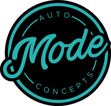 MODE Auto Concepts Sticker Round - Medium 100mm - MODE Auto Concepts