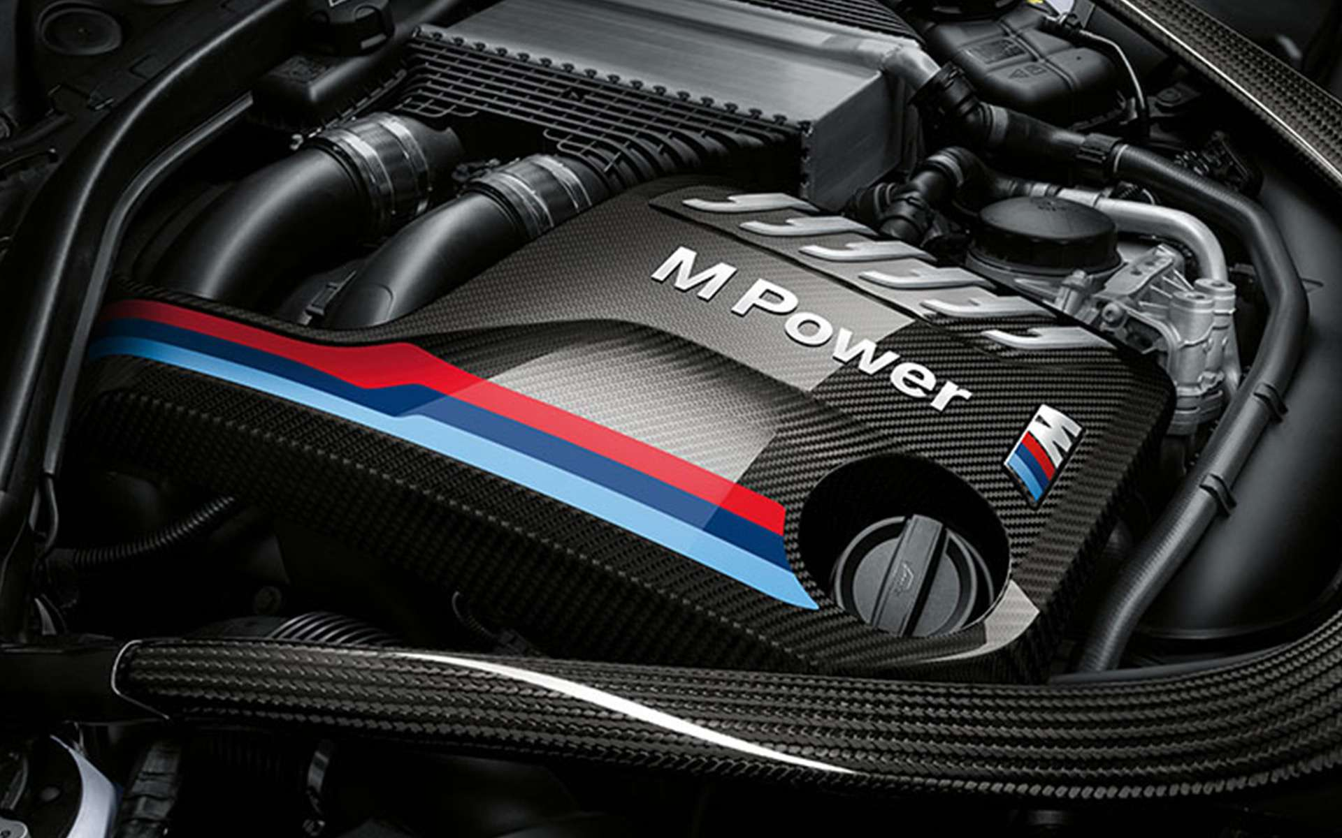 Genuine BMW M Performance Carbon Fiber Engine Cover M3/M4 (F80/F82) & M2 Competition (F87)