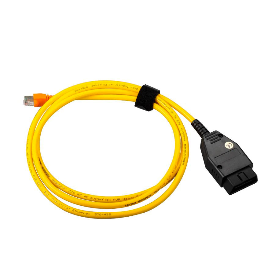 MODE ENET Cable Ethernet to OBDII Interface Tuning, Diagnostics & Coding suit BMW inc. M2 F87, M3 F80, M4 F82 F-Series & G-Series Tune