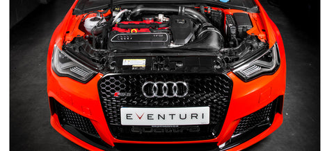 Eventuri Black Carbon Intake suits Audi RS3 PFL 8V