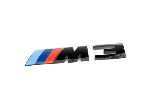 Genuine BMW M3 Black Badge Trunk Emblem M3 (F80)