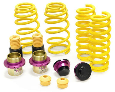 KW Suspension HAS Height Adjustable Spring kit suits AUDI A4 (B9) Avant Wagon A5 Sportback/Cabrio (B9) w. EDC - MODE Auto Concepts