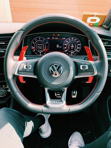 MODE Shift+ DSG Paddle Shifter (OEM Fit) suit VW Golf R/GTI (MK7/MK7.5) & VW Polo GTI (6R/AW) & R-Line Models