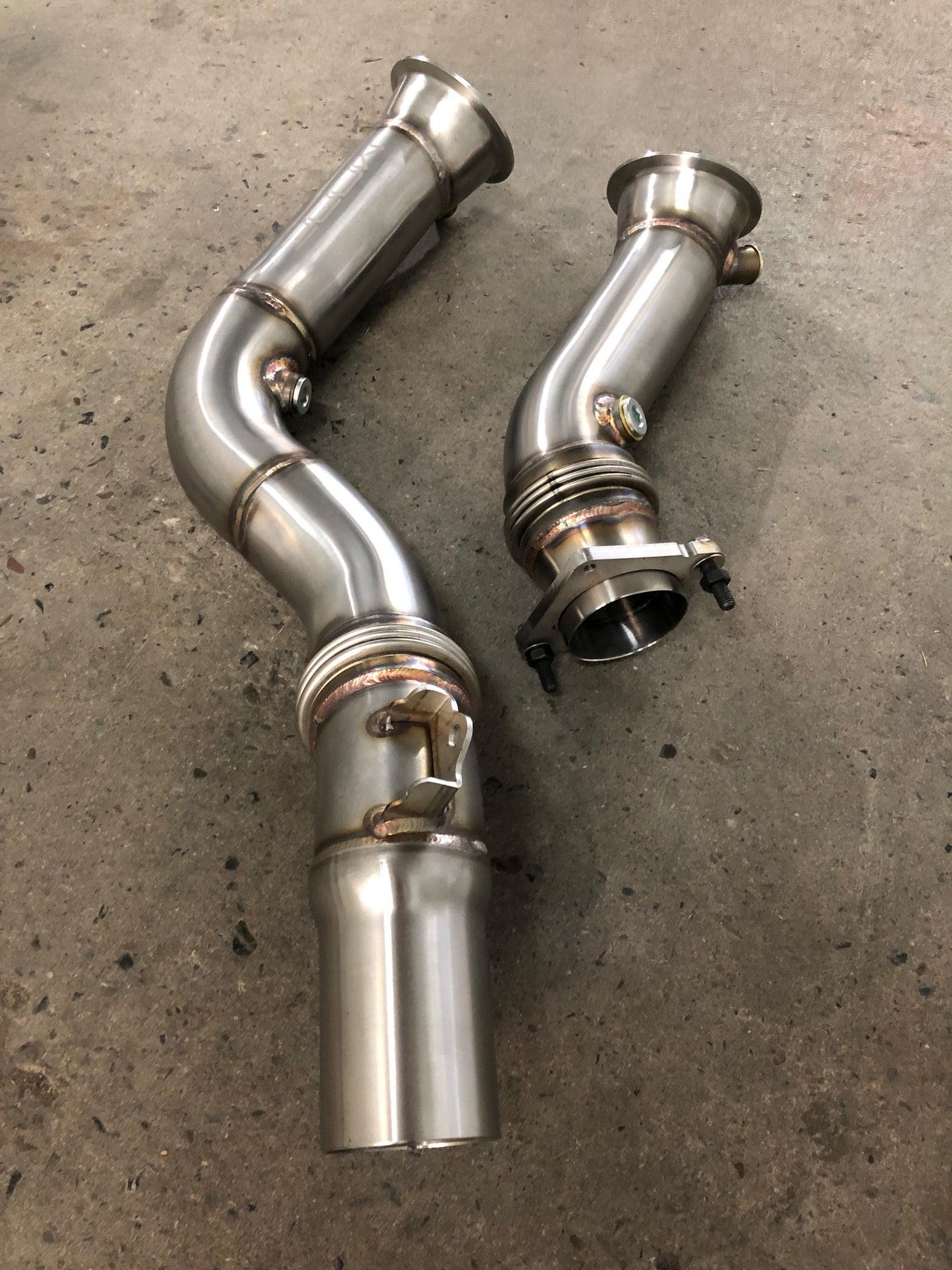 MODE Design Performance Decatted/Catless Downpipe suits BMW M2 Competition (F87) & M3/M4 (F80/F82) S55