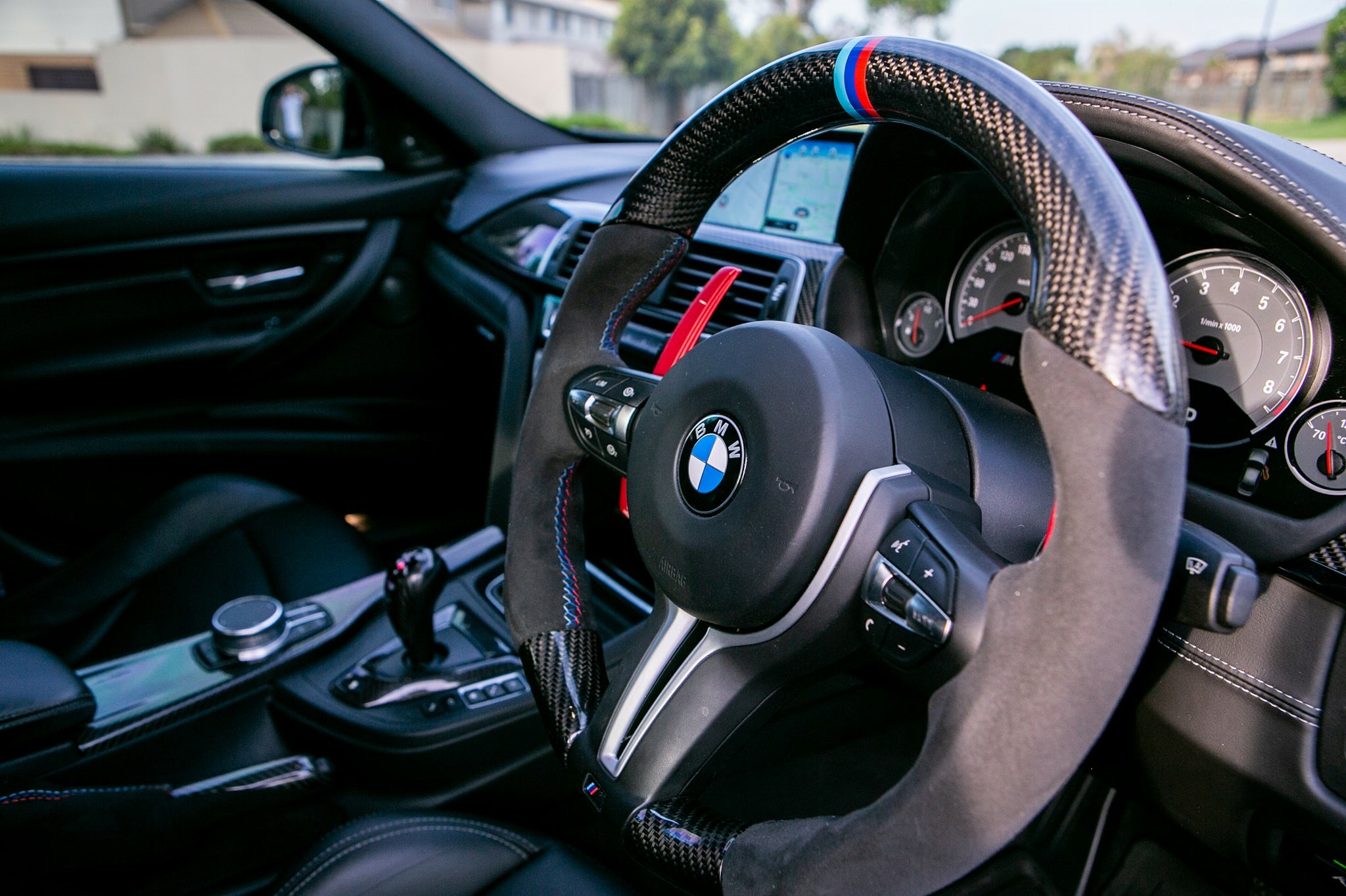 MODE Shift+ DCT Paddle Shifter (OEM Fit) BMW F-Series M suit M2/M3/M4/M5/M6 (F8X) X5M/X6M (F8X) - MODE Auto Concepts
