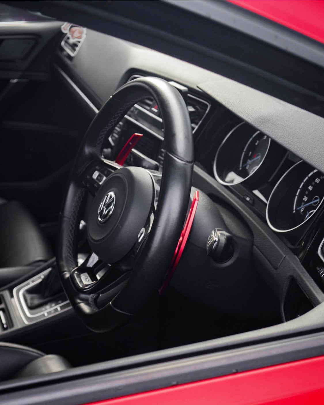 MODE Shift+ DSG Paddle Shifter (OEM Fit) suit VW Golf R/GTI (MK7/MK7.5/MK8) & VW Polo GTI (6R/AW) & R-Line Models