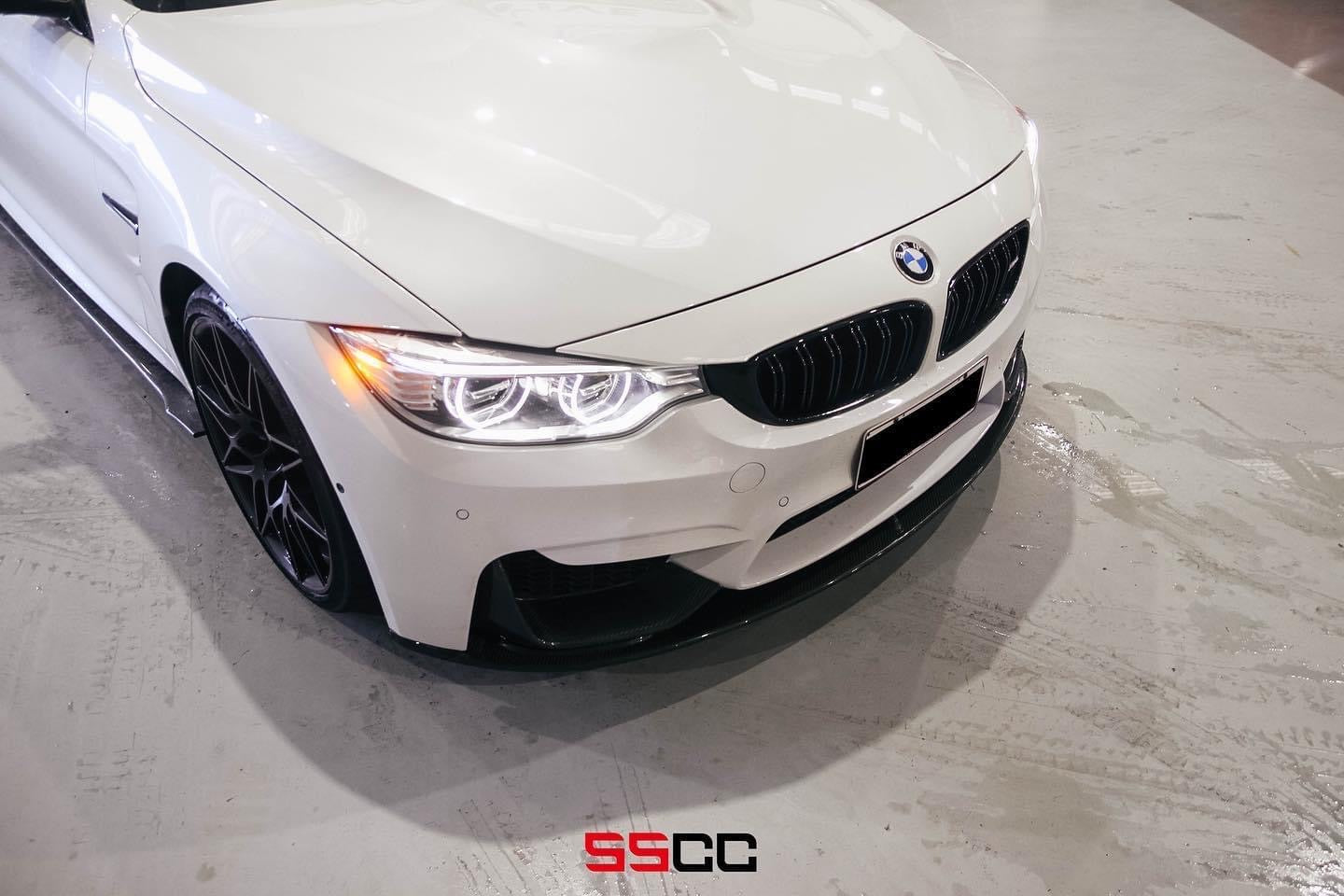 MODE Design Performance Decatted/Catless Downpipes w/ Heat Shield suits BMW M2 Competition (F87) & M3/M4 (F80/F82) S55 - MODE Auto Concepts