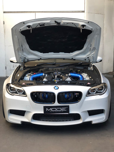 MODE Air+ Performance Front Mounted Intake & Charge Pipe Kit BMW M5 (F10) M6 (F06/F12/F13) S63 TU - MODE Auto Concepts