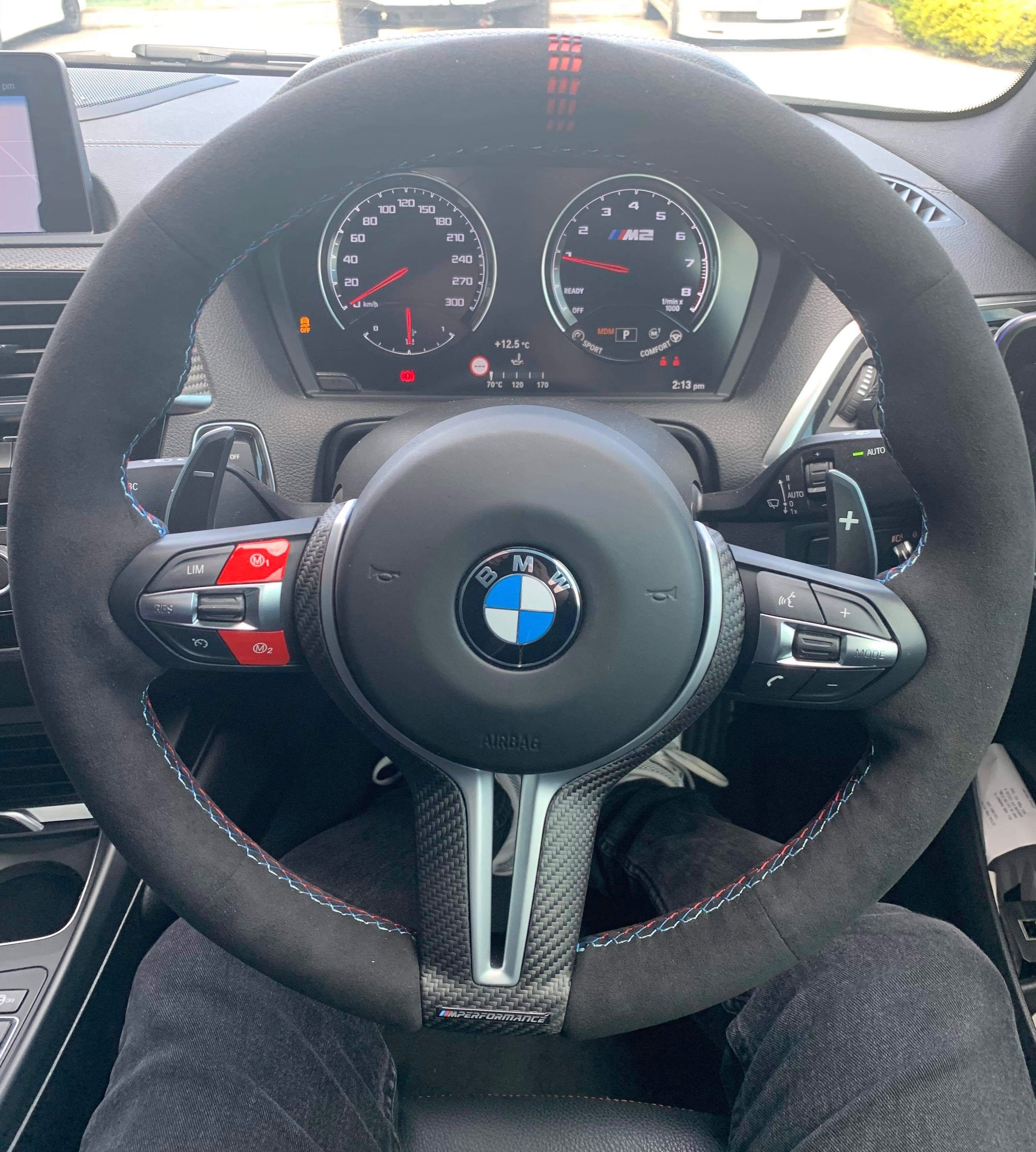 Mode Gts Cs Style Custom Steering Wheel Cover For Bmw M Sport Mode Auto Concepts