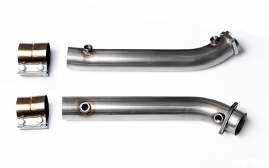 Macht Schnell - Decatted / Cat Bypass Track Pipes - BMW M3 E90/E92 S65 - MODE Auto Concepts