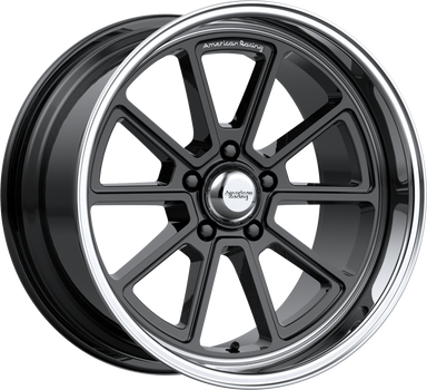 American Racing VN510 DRAFT 18x10 5x114.30 GLOSS BLACK W/ DIAMOND CUT LIP (0mm) - MODE Auto Concepts