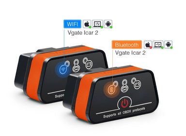 V-GATE WIFI / Bluetooth OBDII/OBD2 Interface Diagnostic Scanner & Coding Tool - MODE Auto Concepts