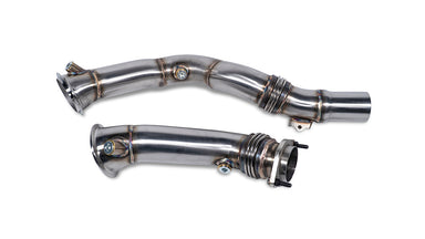 MODE Design Performance Decatted/Catless Downpipe suits BMW M2 Competition (F87) & M3/M4 (F80/F82) S55 - MODE Auto Concepts