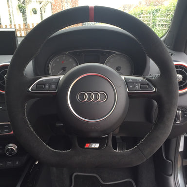 MODE DSG Paddles Custom Steering Wheel Cover for Audi - MODE Auto Concepts