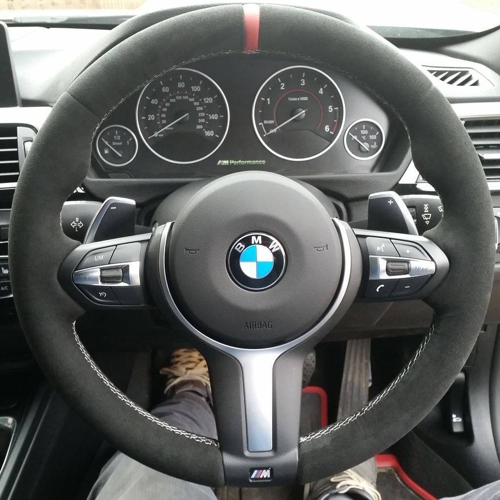 Mode Custom Steering Wheel Cover For Bmw M Sport M Models F Series Mode Auto Concepts