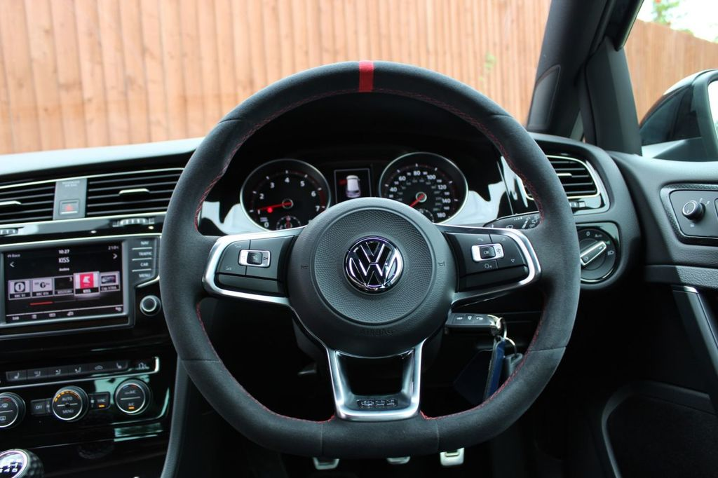 "MODE DSG Paddles ""Clubsport"" style Steering Wheel Cover for VW Golf MK7 & MK7.5 GTI"