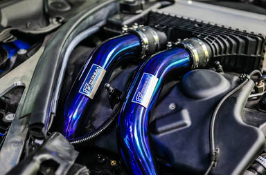 iPE - Titanium Intercooler Chargepipes suit BMW M3 F80 & M4 F82/F83 (2014-2020) - MODE Auto Concepts