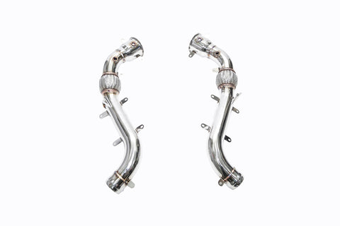 iPE - Decatted Downpipe Cat Bypass Pipe suit McLaren 650S (2014-2017)