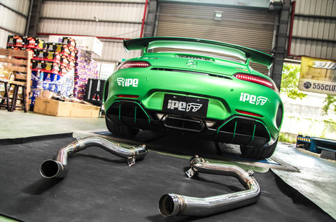 iPE - Decatted Downpipe Cat Bypass Pipe suit Mercedes Benz AMG GTR & GT/GTS (C190/R190) (2015-Current)