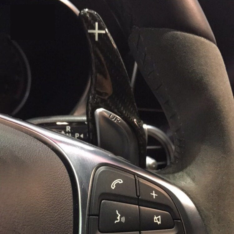 MODE DSG Paddles Carbon Fiber Paddle Shifters suit Mercedes Benz AMG (TYPE-B) *Current Model*