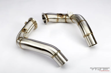 VRSF Stainless Steel Catless Downpipes suit V8 S63 BMW X5M & X6M (F85/F86) - MODE Auto Concepts