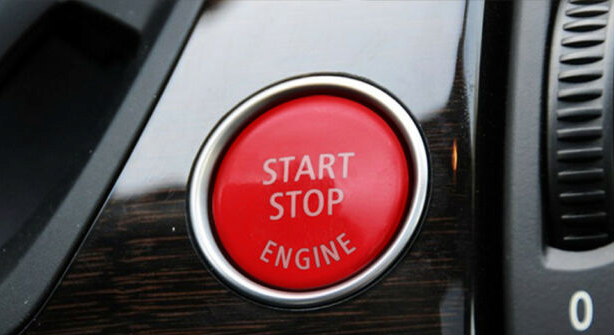 MODE RED STOP/START Button (without OFF Button) suits BMW F-Series 5/6/7 Series (F10/F11/F06/F12/F13/F01) - MODE Auto Concepts