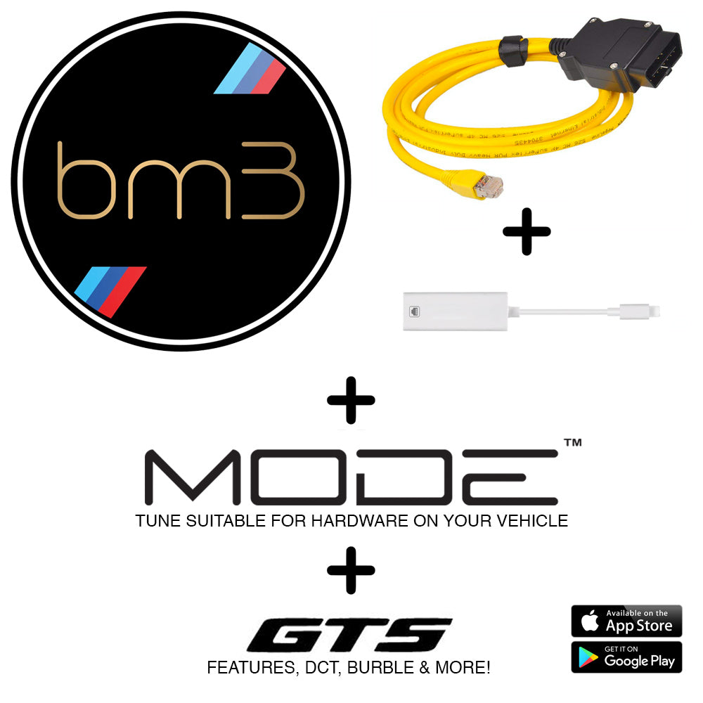 MODE x BOOTMOD3 Ultimate Tuning Bundle to suit N13 - BMW F-Series 114i 116i 118i 316i 320i Tune
