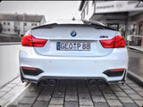 "MODE BMW M2/M3/M4 F80/F82/F87 & M5/M6 F10/F11/F12 3.75"" (98mm) Angle Cut Slip On Exhaust Tips"