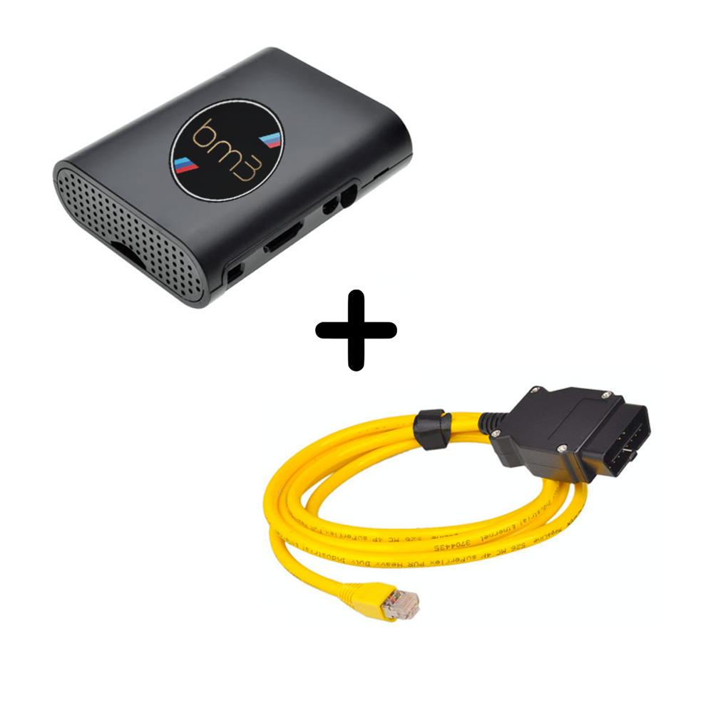 MODE x BOOTMOD3 OBD AGENT Hardware Tuning Device & E-Net Cable Bundle - (OPTIONAL FOR WIFI/WIRED WITH IOS/ANDROID App) Tune