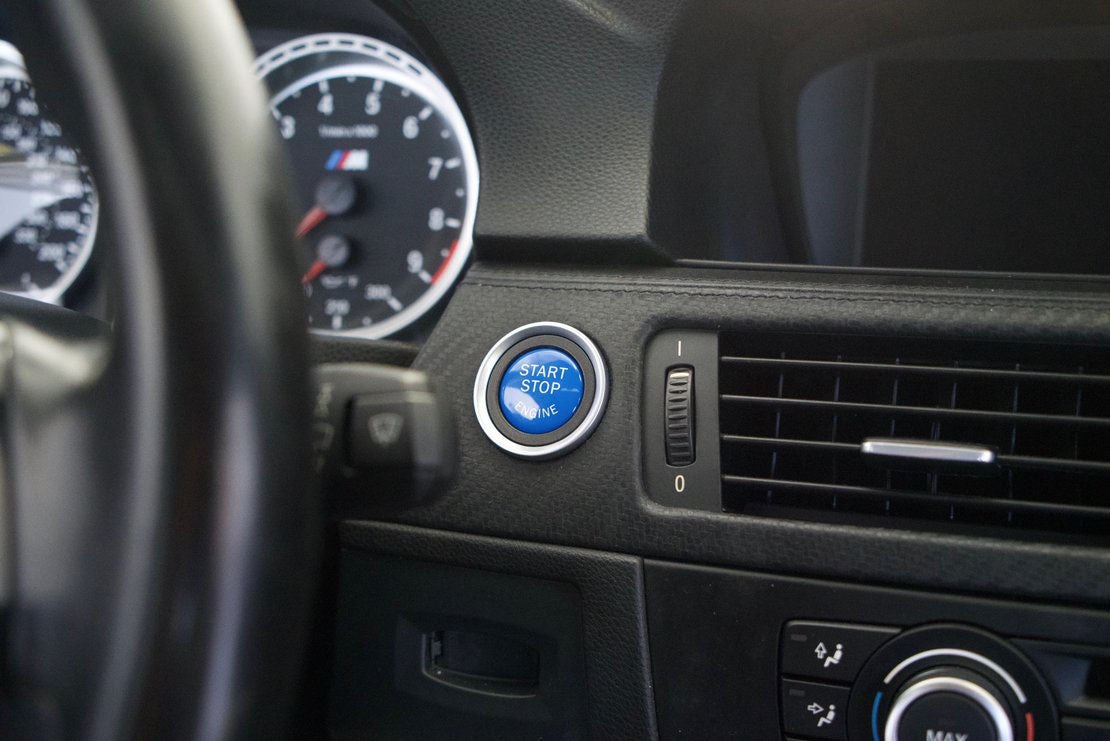 MODE BLUE STOP/START Button suits BMW M3 (E90/E92/E93)