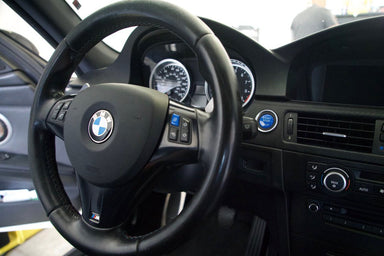 Car Steering Wheel M Mode Blue Switch Button Fit for BMW 3 Series E90 E92 E93 M3