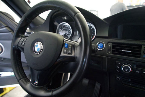 MODE BLUE M Steering Wheel Button suits BMW M3 (E90/E92/E93)