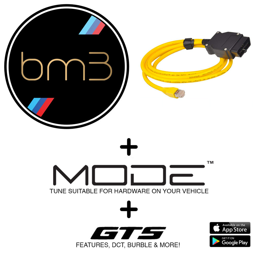 MODE x bootmod3 Ultimate Tuning Bundle to suit S55 - BMW M3 F80, M4 F82 & M2 Competition F87 Tune - MODE Auto Concepts