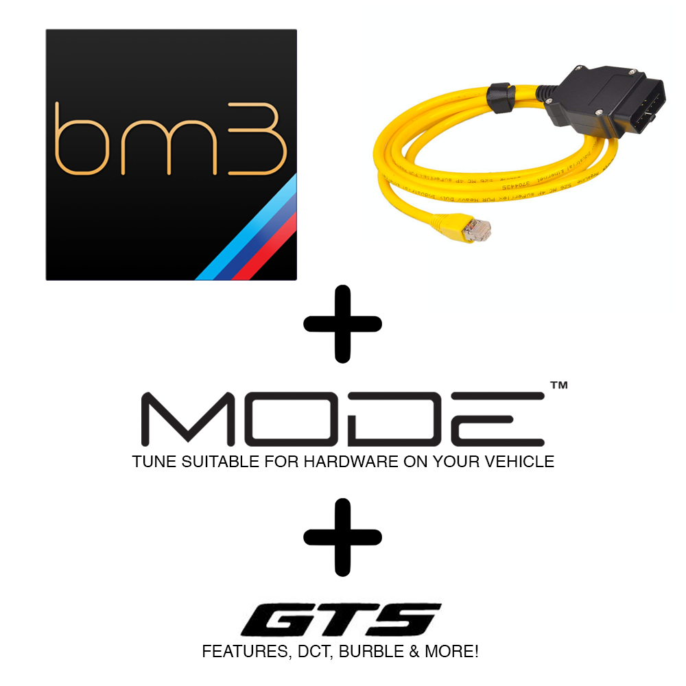 MODE x bootmod3 Stage 2 505hp+ Power Pack suit S55 BMW M3/M4 F80/F82 & M2 Competition F87 - MODE Auto Concepts