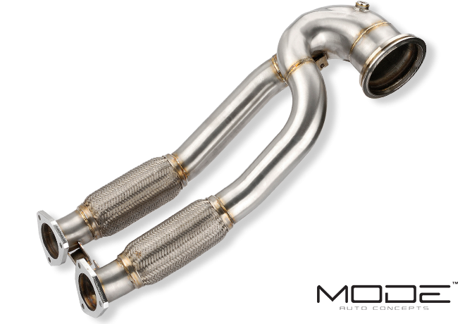 MODE Design Performance Decatted/Catless Downpipe suits Audi RS3 8V PFL