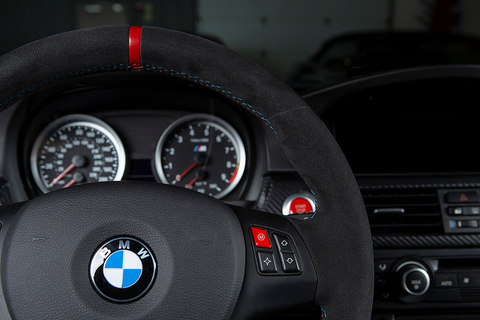 MODE RED M Steering Wheel Button suits BMW M3 (E90/E92/E93)