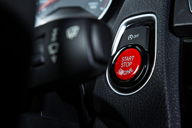 MODE Red Stop/Start Button suits BMW M2 (F87) M3/M4 (F80/F82) M5 (F10) M6 (F06/F12/F13) X5M (F85) X6M (F86)