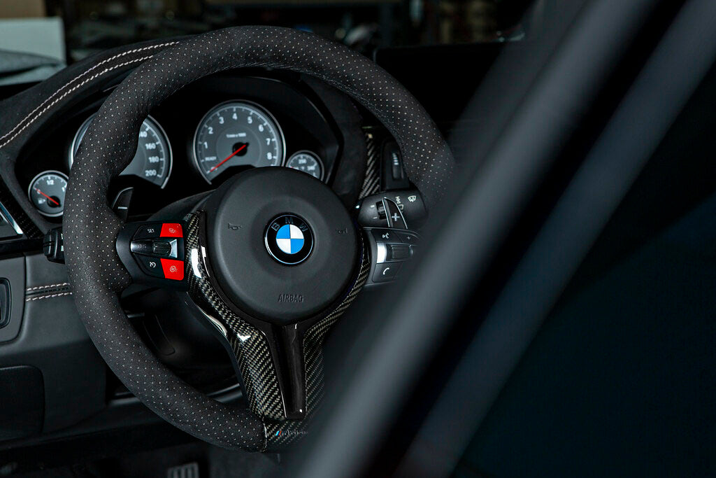 MODE RED M1/M2 Steering Wheel Button suits BMW M2 (F87) M3/M4 (F80/F82) M5 (F10) M6 (F06/F12/F13) X5M (F85) X6M (F86)