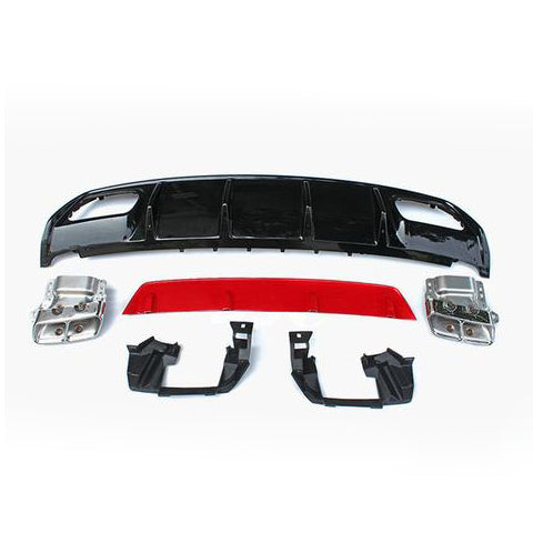 M-Design Mercedes Benz A45 AMG Facelift Diffuser Kit - (W176) 2013-Current