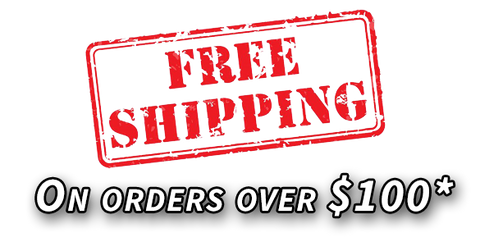 Free shipping on orders over $100*