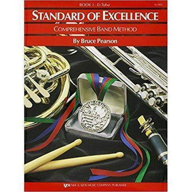 Standard Of Excellence Bk 1 E Flat Tuba Original-Buzz Music