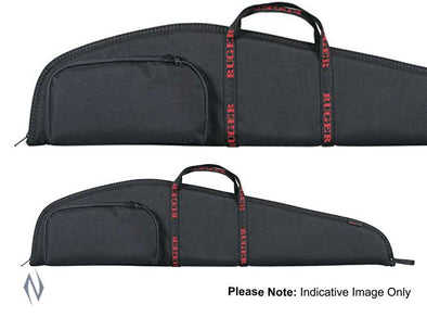 ALLEN RUGER STANDARD SCOPED RIFLE CASE + POCKET 46""
