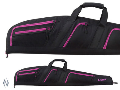 ALLEN DOLORES RIFLE CASE BLACK / PINK 46""