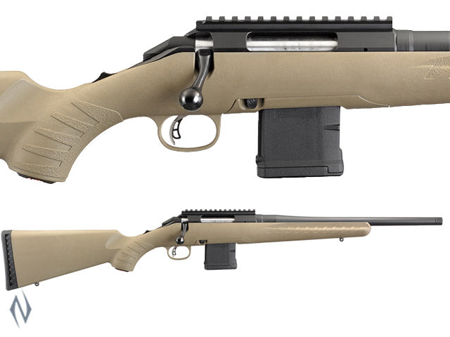 RUGER AMERICAN RIFLE RANCH 223 BLUED 16
